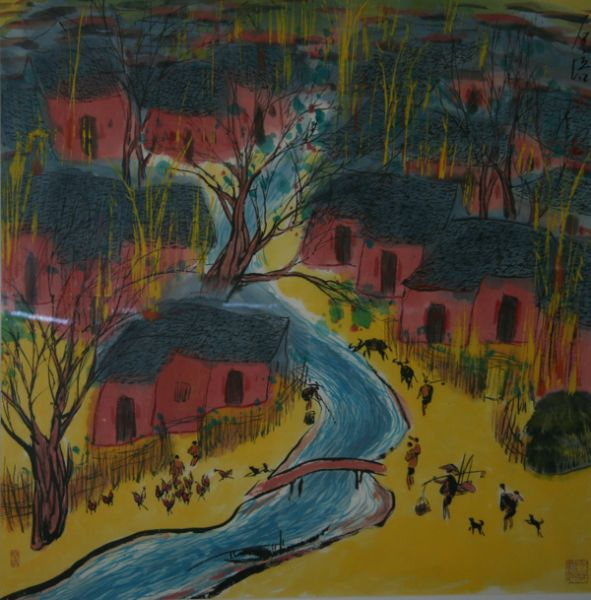Zhang Shipei, Affection for Village
